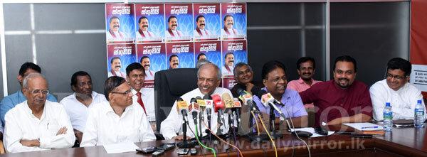 Mahinda Rajapaksa SLPP