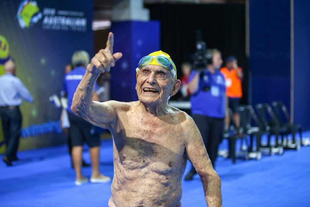 George Corones swimmer world record