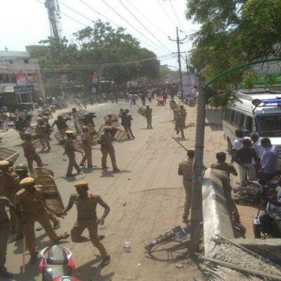 tuticorin protest police killed people