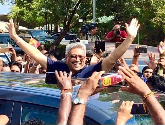gotabaya president election