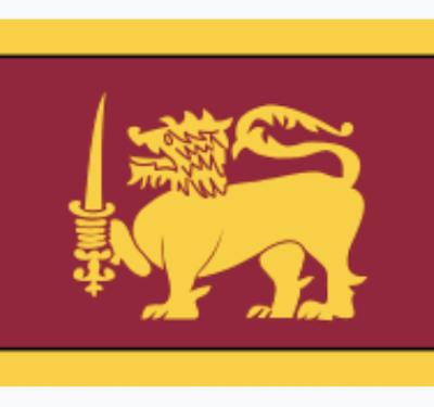 Sri Lanka lion flag