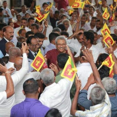 Sri Lanka election Gotabaya Tamils muslims